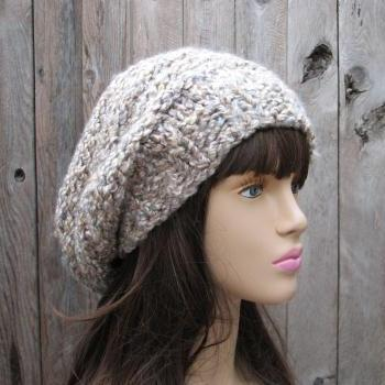 Crochet Hat - Slouchy Hat -Multicolored - Winter Accessories Autumn Accessories Fall Fashion
